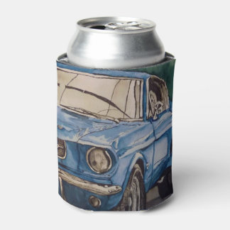 Blue Pony Can Cooler