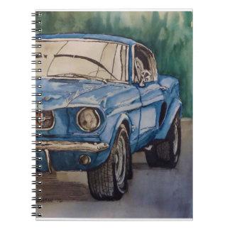 Blue Pony Notebook