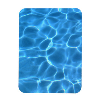 Blue Pool Pattern Magnet