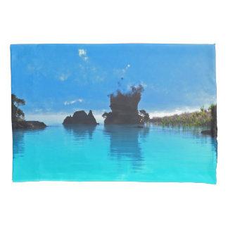 Blue Pool Pillowcase