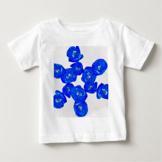blue poppies baby T-Shirt