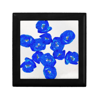blue poppies gift box