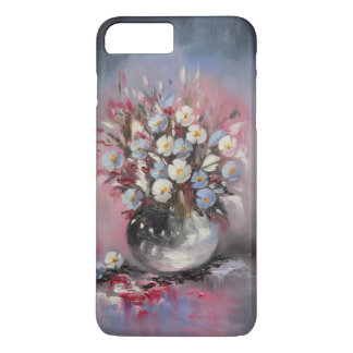 Blue poppies iPhone 8 plus/7 plus case