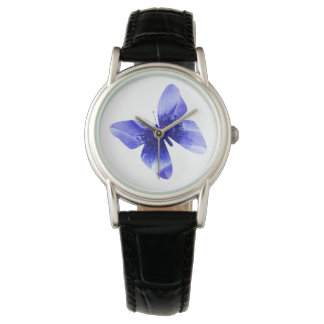 Blue Poppy Butterfly, Ladies Watch