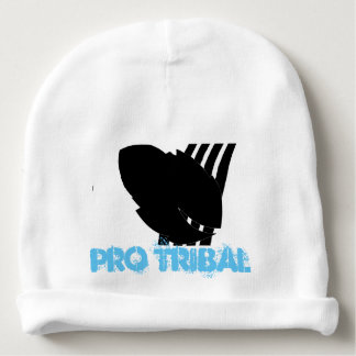 Blue Pro Tribal Baby Cotton Beanie Baby Beanie