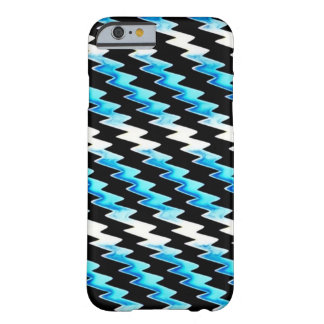 Blue Psychedelic Lightning Pattern Barely There iPhone 6 Case
