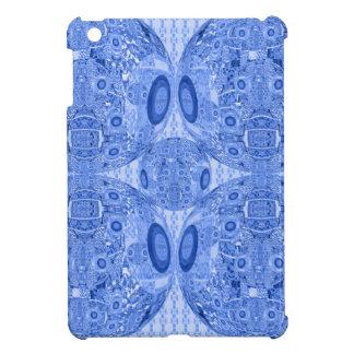 Blue Psychedelic Spheres Cover For The iPad Mini