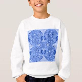 Blue Psychedelic Spheres Sweatshirt
