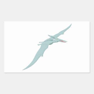 Blue Pterodactyl Dinosaur 4 Sticker