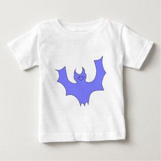 Blue - Purple Bat Cartoon. Tshirt
