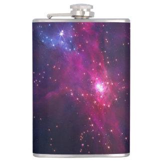 Blue Purple Bright Starry Sky Flasks