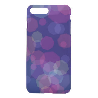 Blue/Purple Bubbly iPhone7 Plus Translucent Case
