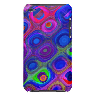 Blue Purple Funky Case-Mate iPod Touch Case