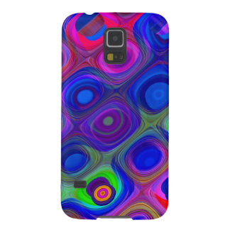 Blue Purple Funky Galaxy S5 Cover