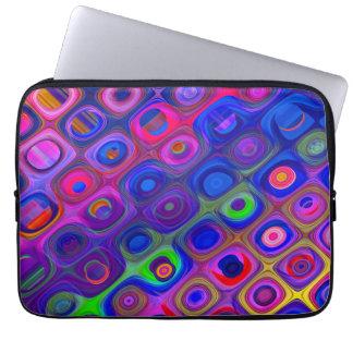 Blue & Purple Funky Laptop Sleeve