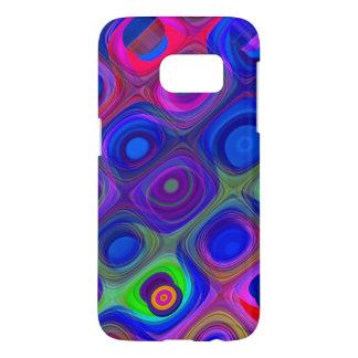 Blue Purple Funky Samsung Galaxy S7 Case