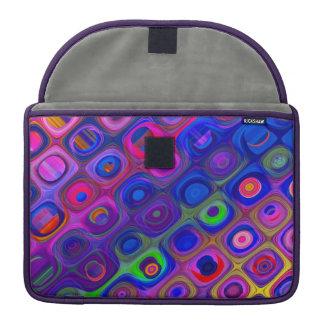 Blue & Purple Funky Sleeve For MacBooks