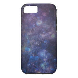 Blue Purple Galaxy Labradorite iPhone 7 Case