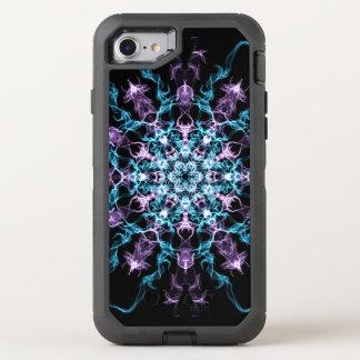 Blue & Purple Graphics iPhone case
