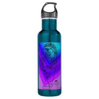 Blue/Purple Lilly 710 Ml Water Bottle