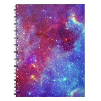 Blue Purple Nebula  Notebook