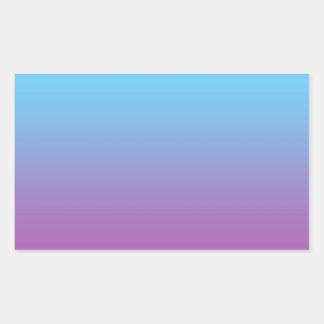 Blue & Purple Ombre