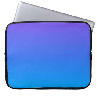 Blue/Purple Ombre Laptop Sleeve