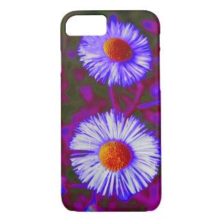 Blue Purple Violet Daisy Flower Floral Photography iPhone 8/7 Case