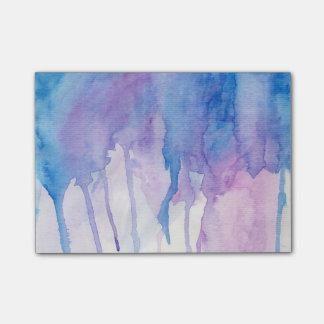 Blue & Purple Watercolor | Post-It Notes