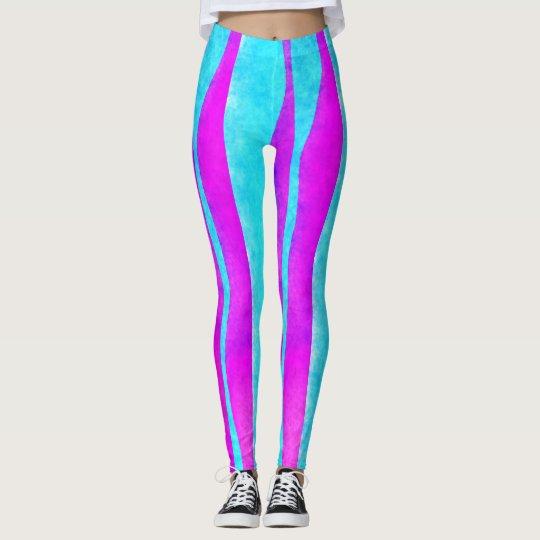 Blue/Purple Women's Leggings