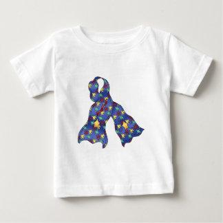 Blue Puzzle Autism Awareness Ribbon Infant T-Shirt