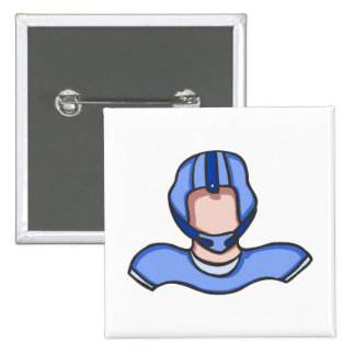 Blue quarterback buttons