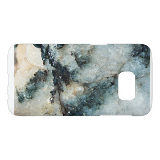 Blue Quartz Mineral Texture Samsung Galaxy S7 Case
