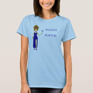 Blue Queenie Martini T-Shirt