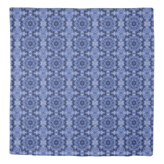 Blue Quilt Duvet Cover