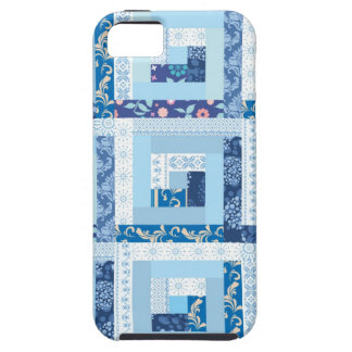 Blue Quilt iPhone 5 Cases