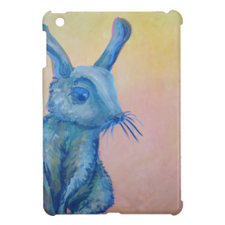 blue rabbit painting i-pad mini case iPad mini case