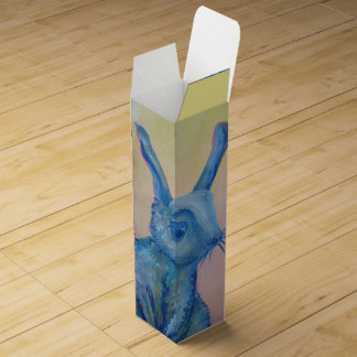 blue rabbit wine box
