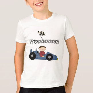 Blue Race Car Tshirts and Gifts