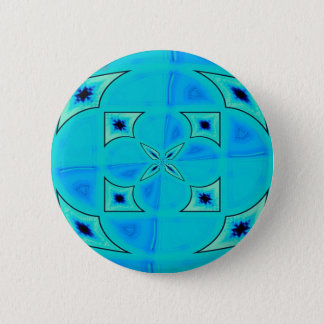 blue radiation 2 inch round button