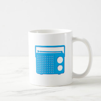Blue Radio Coffee Mug