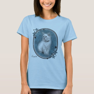 blue ragdoll kitten t shirt