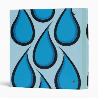 Blue Rain Vinyl Binder