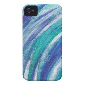 blue Rainbow iPhone 4 Case