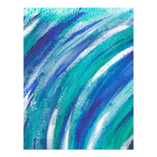 blue Rainbow Letterhead