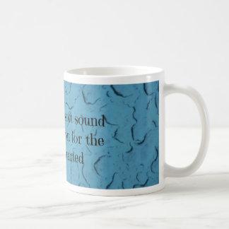 Blue Raindrop Brokenhearted Compassion Quote Coffee Mug