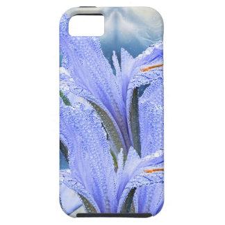 Blue raindrop Iris iPhone 5 Case
