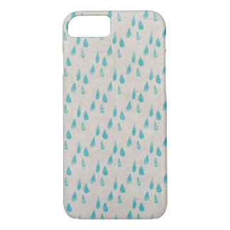 Blue Raindrops Case-Mate iPhone Case