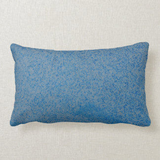 Blue random speckle double sided lumbar cushion