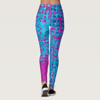Blue Raspberry Leggings